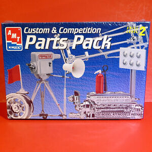 -- AMT ©1997 PARTS PACK - Allison/Hot Rod Chassis/Custom Wheels - Factory Sealed