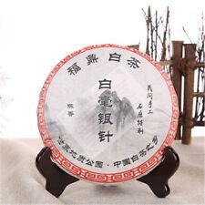 300g aguja de plata Orgánico Té té blanco chino Pastel de té comprimido cuidado de la salud