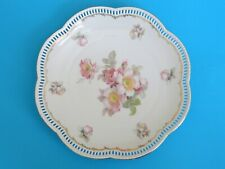 Schumann Arzberg Rosedale Pierced Reticulated Dish Serving Plate 11""