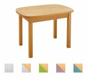 Kindertisch Tisch Spieltisch Holztisch Kindersitzgruppe Holz Erle Massivholz NEU