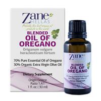 Zane Hellas SUPER 70.PreDiluted Oregano Oil.Pure Greek Oregano Oil.4Bottles
