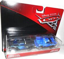 Cars 3 - JACKSON STORM #20 & DANNY SWERVEZ 19 Octane Gain Team Disney Pixar Cars