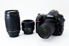 Nikon D850 45.7MP 28-80/70-300/50mm Lens Set [Exc+++] w/8GB SD,Strap [817]