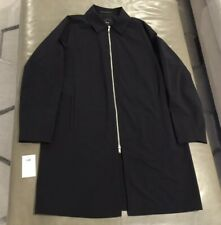 NWOT Theory Mens Balmacaan Lightweight Nylon Wool Neoteric Trench Car Coat XL