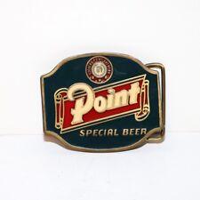 Point Beer Belt Buckle - Enamel