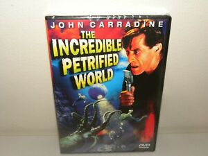 The Incredible Petrified World - DVD - ALL REGIONS - NEW & SEALED