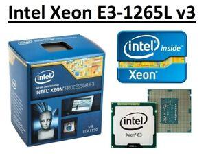 Intel Xeon E3-1265L v3 SR15A 2.5 - 3.7 GHz, 8MB, 4 Core, Socket LGA1150, 45W CPU