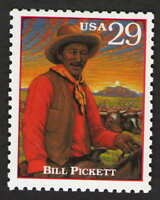 US. 2869 g. 29c. Bill Pickett (1870-1932). Legends of the West. MNH. 1994
