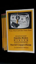 MAGIE:MISLED de TIMOTHY WENK'S et exécuté par David COPPERFIELD