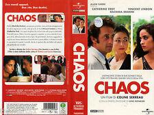 CHAOS  (2001) VHS  Universal Video 1a Ed.  Coline Serreau Line Reaud - rara