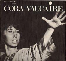 """CORA VAUCAIRE """"THEATRE DE LA VILLE"""" LP JACQUES CANETTI 48860 Dédicacé !"""