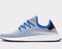 🔥 Adidas Originals Deerupt ® ( Men Sizes UK:  11 & 13  ) Hir Blue / White NEW