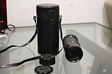 Sigma 100-200mm f/4.5 Macro Zoom-K Lens for Olympus With Case