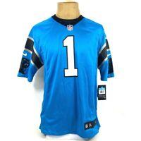 Carolina Panthers Cam Newton 1 Nike Mens Jersey Blue 479410-455 Medium New