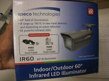 SPECO TECHNOLOGIES IR60 Infrared LED Illuminator,180 ft.,IP66 FREE SHIPPING