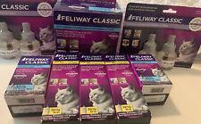 New listing Feliway Classic Starter Kit + 6 Refills + 3 Sprays 60 Ml Ea. Exp 2021/2022 New