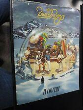 1980 Beach Boys in concert tour book/magazine/program Brian Wilson