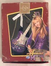 Lenox Hannah Montana Rockin Holiday Ornament Guitar Christmas Miley Cyrus Disney