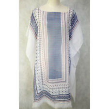 Large Cotton Women Summer Kaftan Top Beach Boho Dress Free Size