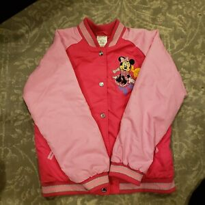 Disney Store Minnie Mouse Jacket Pink Size 7/8