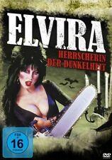 DVD ELVIRA - HERRSCHERIN DER DUNKELHEIT - mit CASSANDRA PETERSON als sexy Vamp *