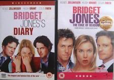 BRIDGET JONES'S DIARY & EDGE OF REASON Zellweger*Grant*Firth Rom-Com DVD *EXC*