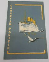 "Canadian Pacific Steamship Lines ""Duchess Of Atholl' Gala Dinner Menu 09/20-35"