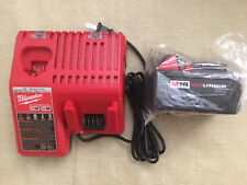 BRAND NEW GENUINE 18V Milwaukee 48-11-1828 3.0 AH Battery & M12/M18 DUAL Charger