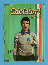 Bustina/Packet - figurine - CALCIATORI 1977-78 - Calcio Crema - Vuota-Empty