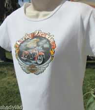 HARLEY DAVIDSON WHITE TOP Large 2002 Glittery Graphics Little Rock, AR EAGLE