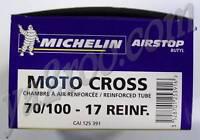 "chambre à air MICHELIN dirt moto cross renforcée 17"""
