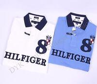 Tommy Hilfiger Men Pique Mesh Polo Shirt Short Sleeve - Free $0 Shipping