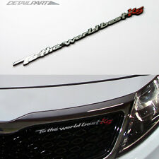 Detailpart D-Font Car Slogan Emblem 8.26 inch For Kia Optima & K5