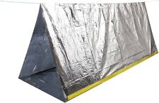 Reflective Outdoors Camping Scouting Hunting Survival Shelter Tent 8' x 5' 3878