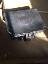 Civil War Union Infantry 69 Cal Cartridge  box With Tins Old Original Antique