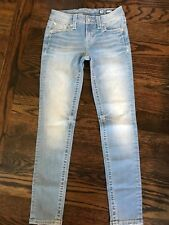 New $99 Miss Me Skinny Jeans Buckle size 26 x 28  RUNS SMALL