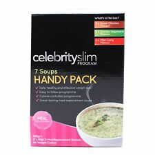 Celebrity SLIM Assortiment de soupes (Substitut de repas ) pratique lot