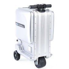 Mini Rechargeable Trunk Electric Rideable Travel Suitcase Luggage Scooter Us New