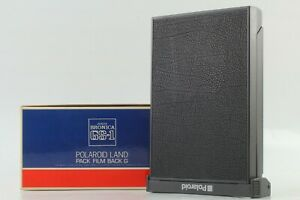 【 MINT in BOX 】 ZENZA BRONICA Polaroid Land Pack Film Back G for GS-1 Japan #500
