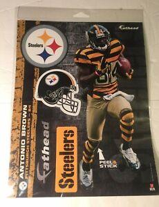 "NEW Antonio Brown Pittsburgh Steelers Fathead 11"" x 9"""