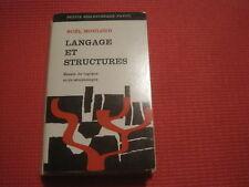 Noel MOULOUD: langage et structures
