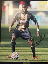 Philadelphia Union Maurice Edu Autographed Signed 11x14 Photo COA #1