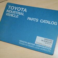 Toyota 30 5fbc30 Forklift Parts Manual Book Catalog Spare List G819 1 Lift Truck
