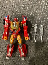 Hasbro Transformers Titans Return HotRod w/ Toyhax labels. Complete.