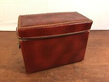 Vintage Hard Vinyl Camera Case for 35mm & Accessories (HD0)