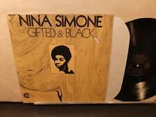 Nina Simone: Gifted & Black (VG+ Canyon 7705 LP) Shrink