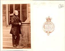 CDV London, Lord John Russell, comte, homme d'Etat britannique, circa 1860