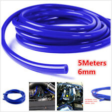 5M 6mm Silicone Vacuum Hose Tube Car Air Water Coolant Oil Turbo Tubing 16.4ft