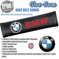 BMW Car Seat Belt Safety Shoulder Strap Cover Cushion Pad Carbon Fiber