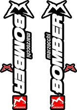 Marzocchi Bomber Fork / Suspension Stickers Decal Kit Bicycle Decal MTB #b065
